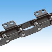 带附件双倍节距侧弯链